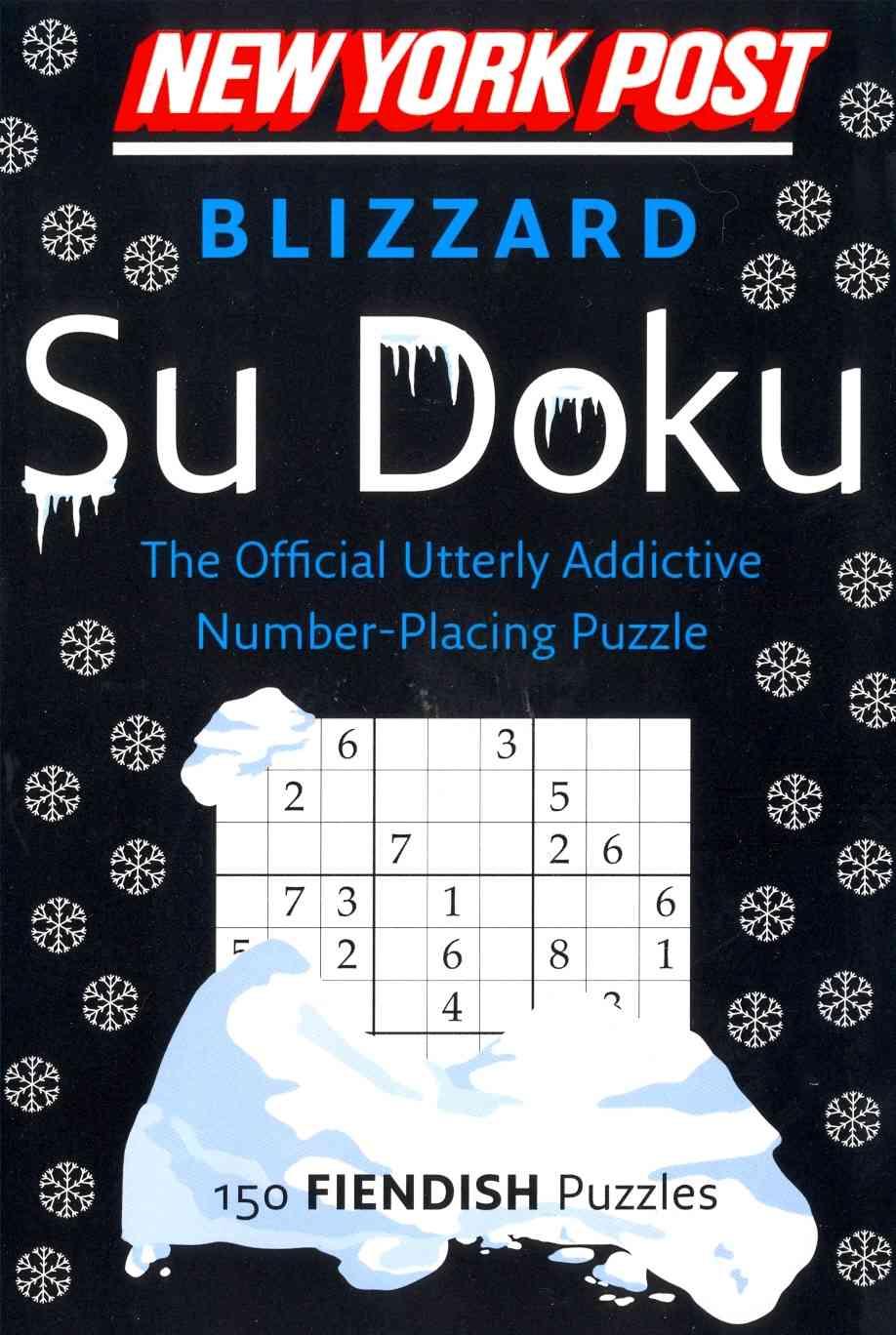 New York Post Blizzard Su Doku By Harpercollins Publishers Ltd. (COR)